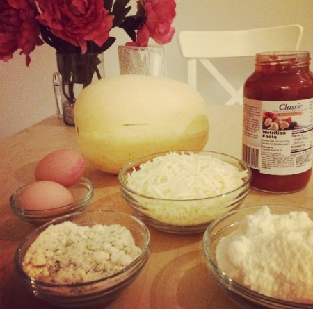 Spaghetti Squash Lasagna Ingredients