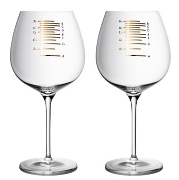 Musical Wine Glass Gift For Foodie